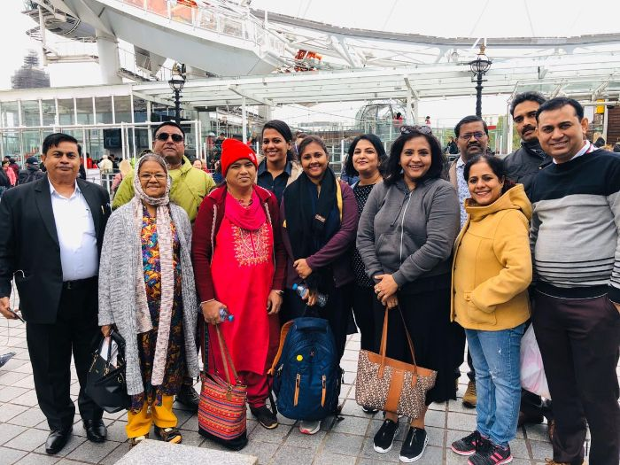 Experiential learning trip to UK, 2019